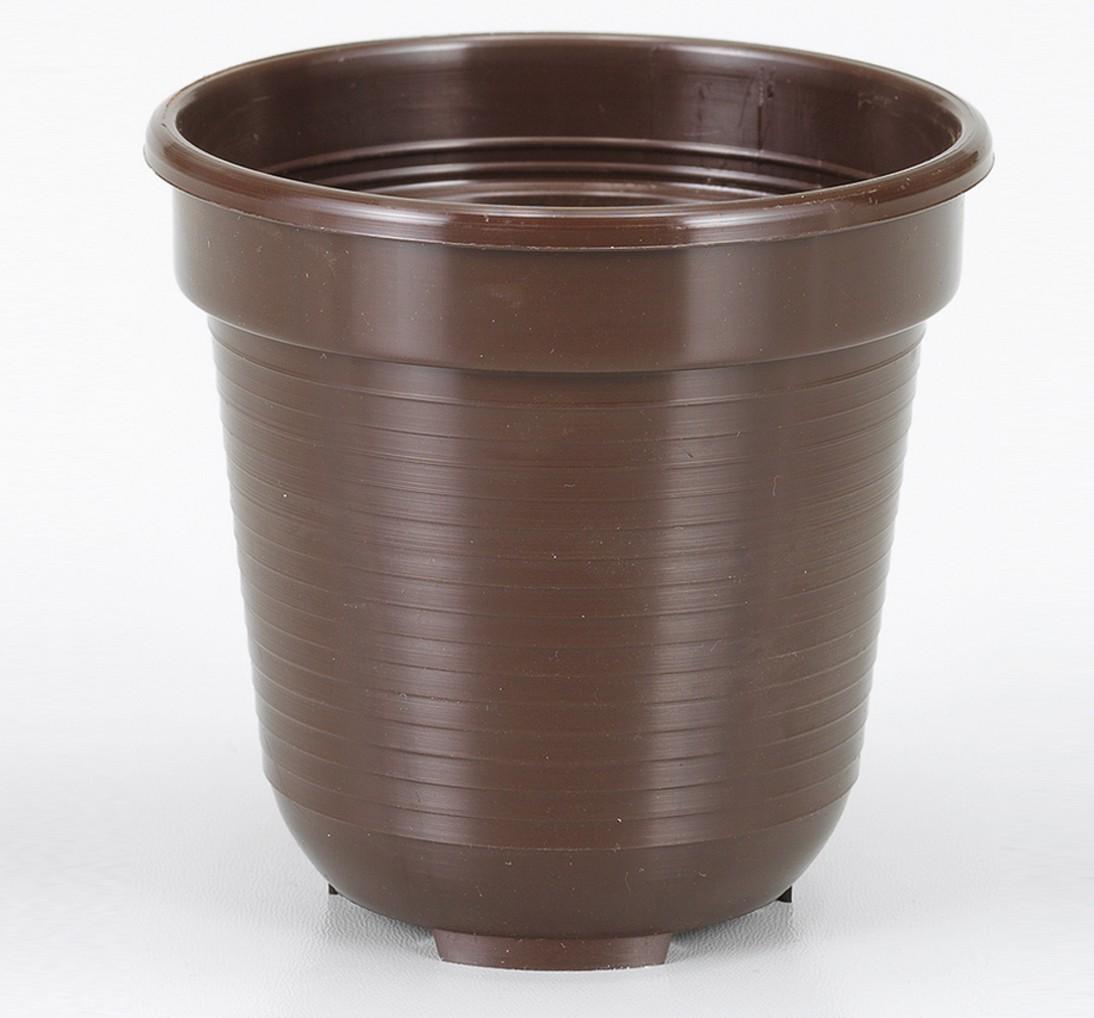 Blumentopf Standard, R x H: 20 x 17,0 cm, braun