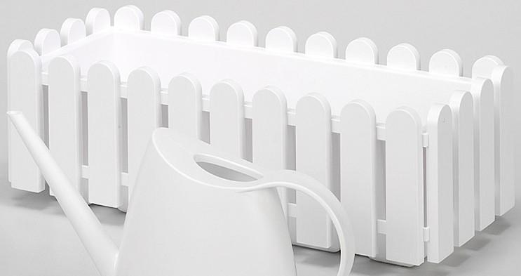 EMSA Blumenkasten »Landhaus«, Breite 50 cm,weiß,einzeln