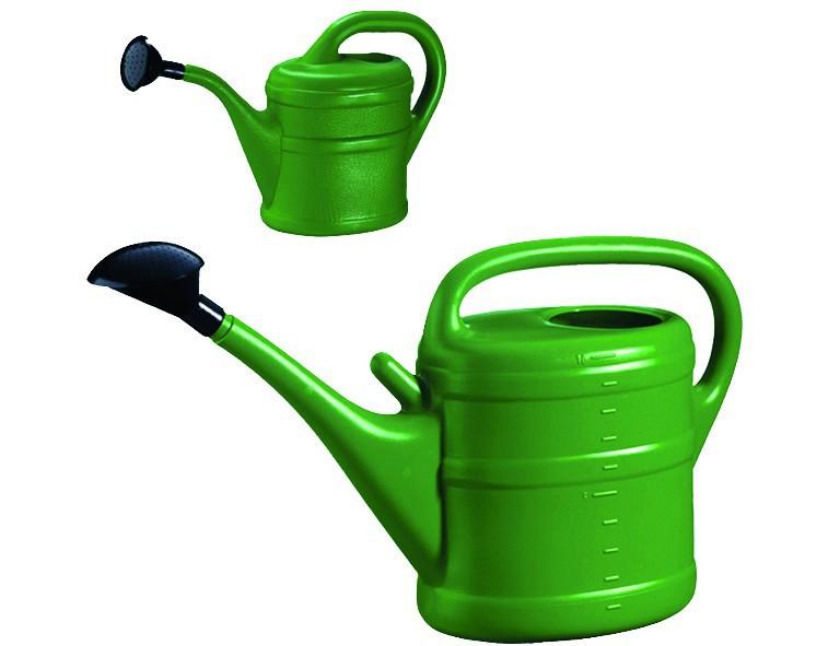 Lippert Kunststoff-Gießkanne 8l, grün, mit Aufsteckvorrichtung
