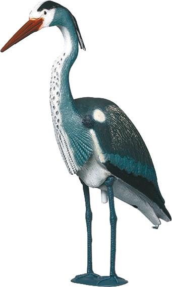 Star 140520 Fischreiher 100 cm, mit Stock und Füssen, Kunststoff