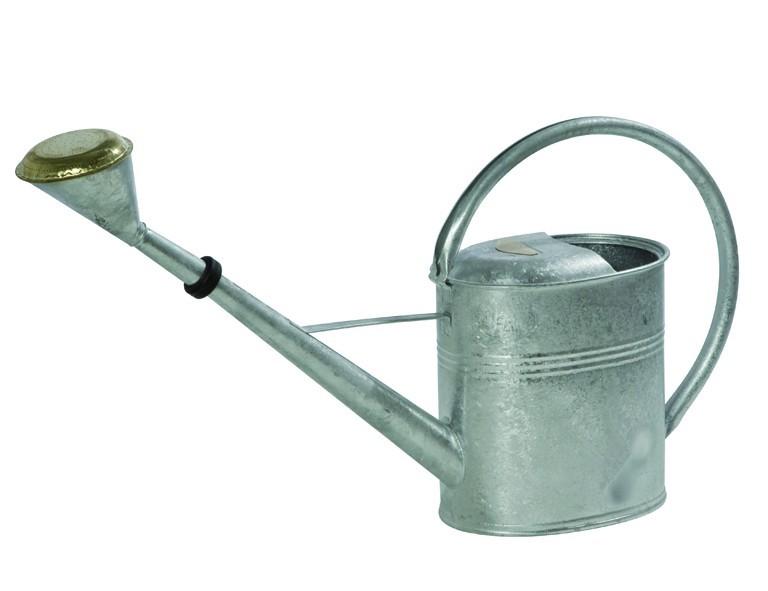 Zink-Gießkanne  8 L mit Brause