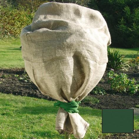 Star Jute-Schutzsack grün eingefärbt 100x110cm
