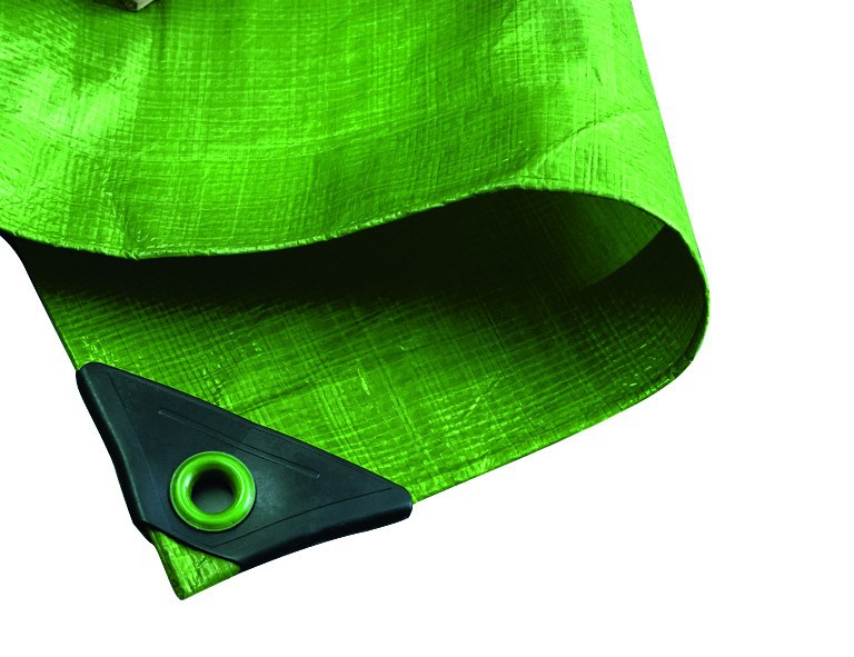 Noor Gewebeplane Hobby, 6x8m, grün, 120g./m²