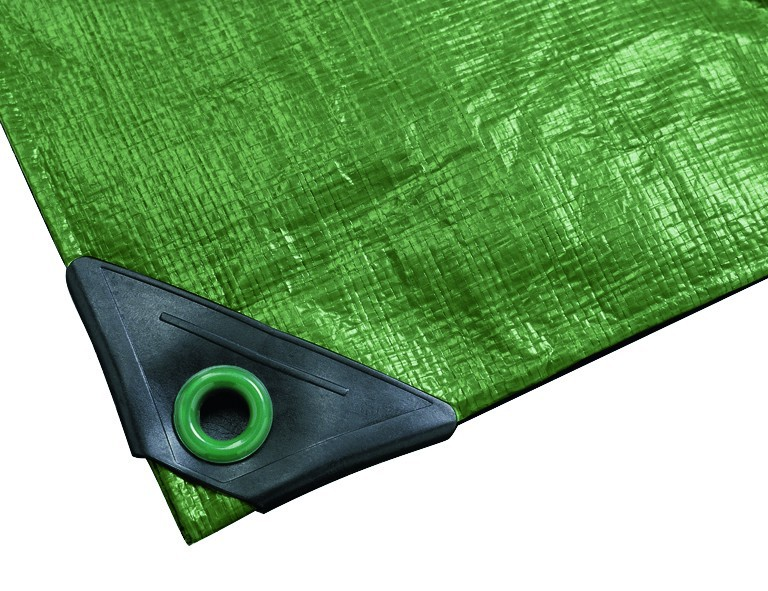 Noor Gewebeplane Super, 4x5m, grün, 200g./m²