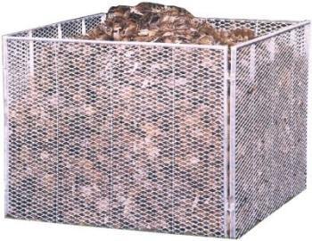 Brinkmann Komposter Streckmetall 80 x 80 x 70 cm Brista Model 922212