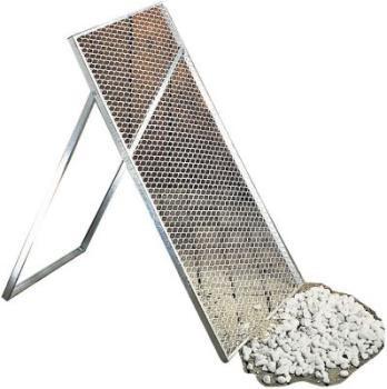 ZEUS Durchwurfsieb Streckmetall Maschenweite 17x40 1000 x 600 Model 922214