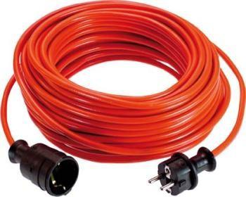H.G. Verlängerungskabel 25m, 3x1,5mm², rot H05VV-F 3G1,5 rot, für innen
