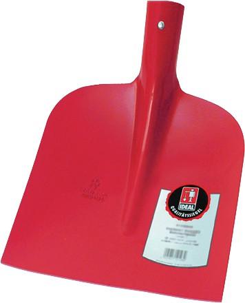 Ideal Holsteiner Sandschaufel ohne Stiel, rot pulverbeschichtet, Gr.1