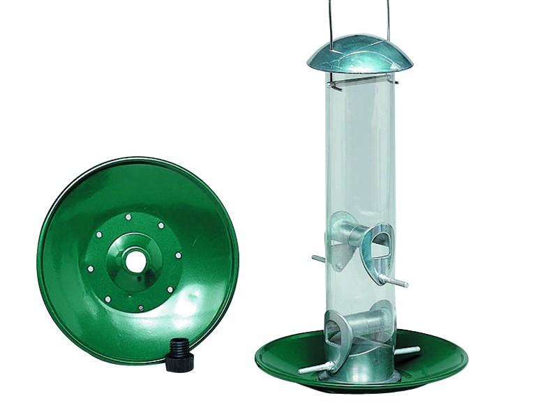 Gardman Metall-Futterscheibe für Futtersäulen schwere Ausführung, Durchmesser 23 cm