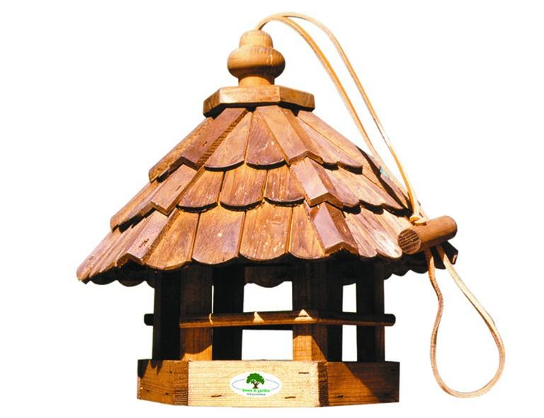HOUSE-GARD 96 Holz-Vogelfutterhaus