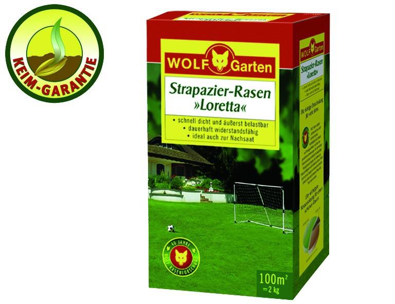 WOLF-Garten Strapazier-Rasen Loretta LJ 100 für 100 qm