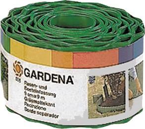 Gardena Raseneinfassung 9 cm hoch, grün