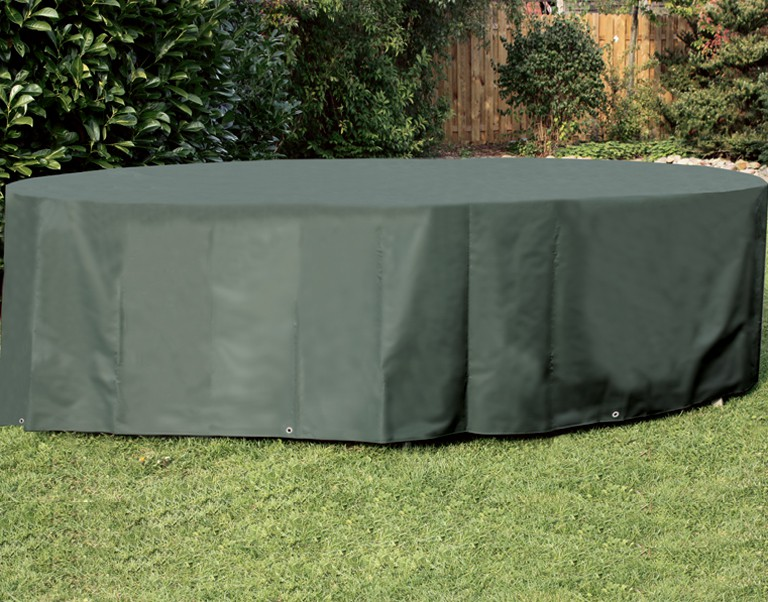 Siena Garden Sitzgruppenhülle oval Poly.-Gewebe Oxford 420D