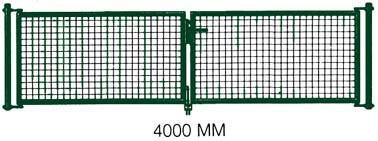 Hema Pkw Tor Gruen 2Flg.4000X 800