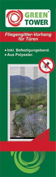 Unimet Insektenschutzvorhänge (3 Lamellen)