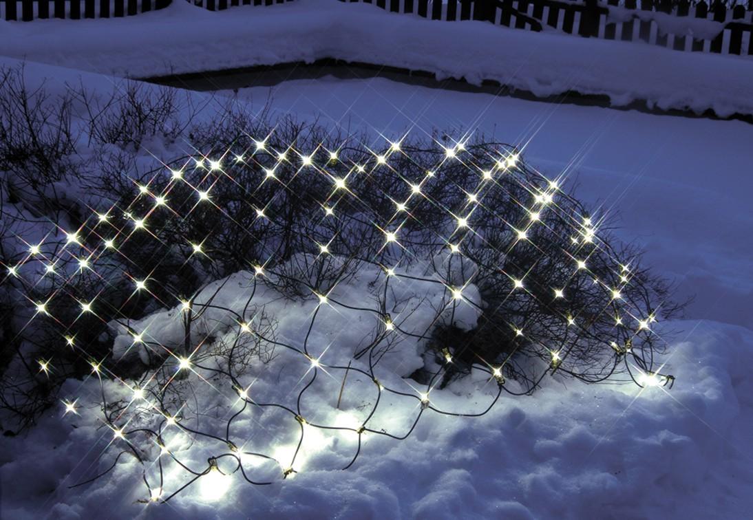Unimet Lichternetz, ohne Startkabel, 100-teilig, warm withe