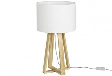 tischleuchten mit holzfuss tischlampe f r ihr zimmer. Black Bedroom Furniture Sets. Home Design Ideas